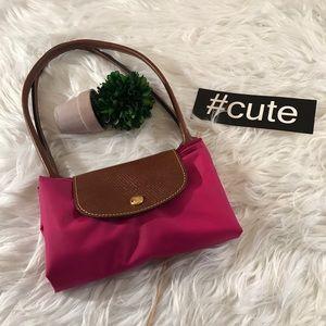 Longchamp Fuchsia Pink Bag 14X10